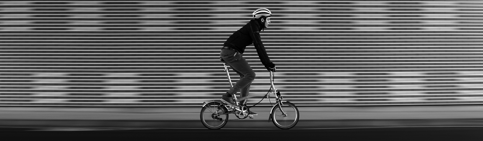 Brompton Superlight folding bike
