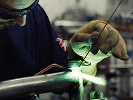 brompton factory tour brazing