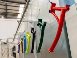 brompton factory tour paint facility